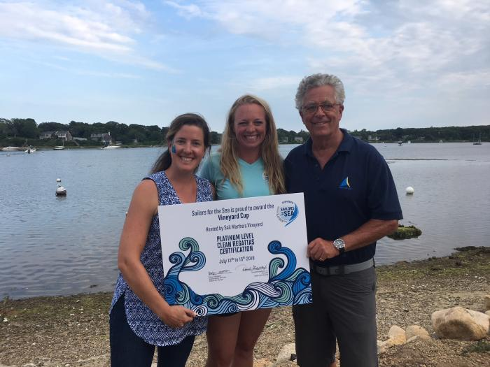 The Vineyard Cup, Platinum Clean Regatta, Brock Callen, Shelley Brown, Kimberly Ulmer