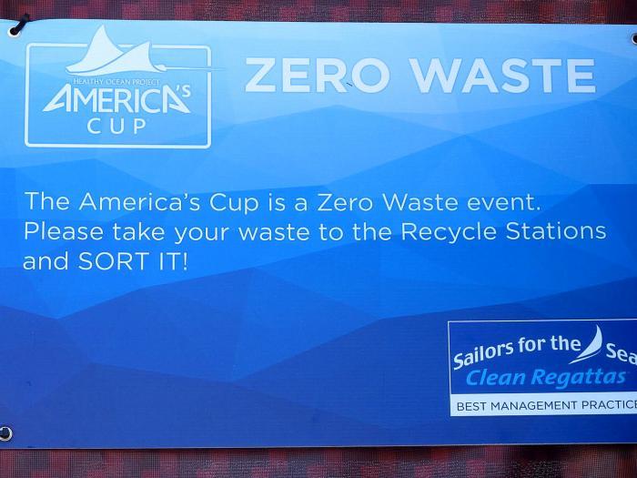 34th America's Cup - a zero waste event