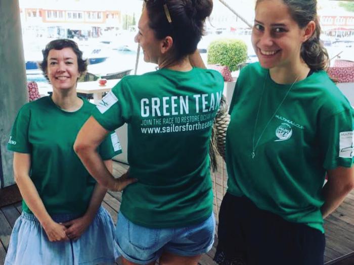 green team, sustainability, clean regattas