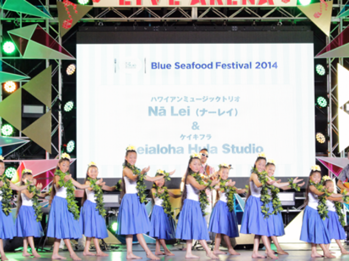 hula, sailors for the sea japan, blue seafood festival