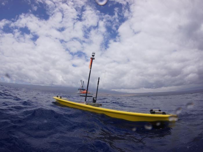 Liquid Robotics, Seagoing Robot, Wave Glider, Water Robot, Ocean Robot, Fishery Monitoring