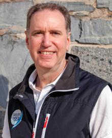 R. Mark Davis, president, Sailors for the Sea