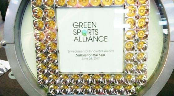 green sports alliance, environmental innovator of the year award,