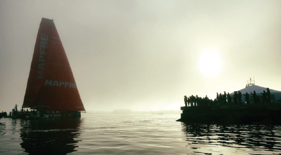 sailing, Volvo ocean race, sailboat