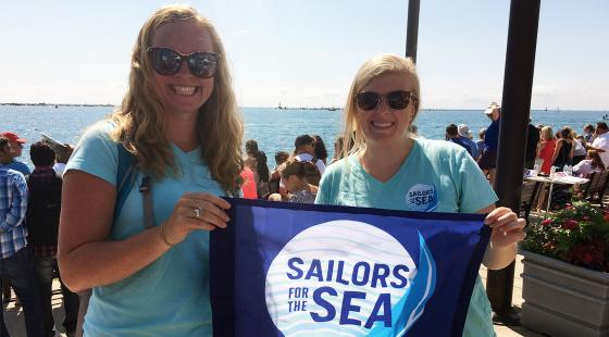 chicago yacht club, clean regattas, sailors for the sea, chicago mackinac race