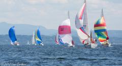 Sailing on Lake Champlain