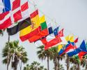 Youth Sailing World Championships, country flags