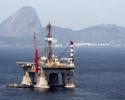 Petrobras Oil platform, Guanabara bay,