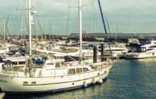 boat, sailboat, marina