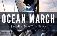 Join the ocean march, june 4th, new york city, new york harbor