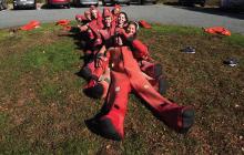 survival suits, sailing, adventure