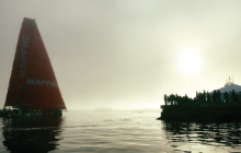 sailing, Volvo ocean race, sailboat