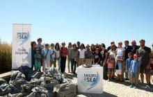 International Coastal Cleanup, Sailors for the Sea Portugal, beach clean up, Cascais Portugal, Portuguese Coastline, plastic pollution prevention