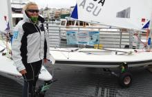 Laser sailing, clean regattas, sailors for the sea, D'amy Steward, St. Francis Yacht Club