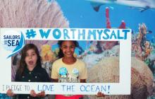 Kids protect the ocean, learn about ocean conservation