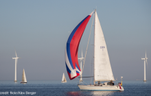 Sailboats amongst wind generators photo credit: flickr, Alex Berger